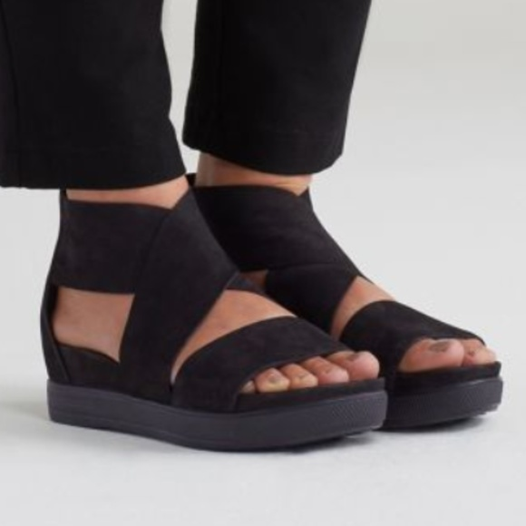 660159bee1b Eileen Fisher Shoes - Eileen Fisher Leather Sport Sandals
